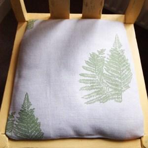 Bespoke Bracken Fabric on Chair by Clement Design