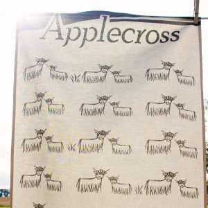 Applecross Highland Coo Teatowel by Clement Design