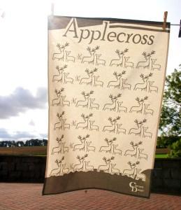 Deer Applecross Teatowel by Clement Design