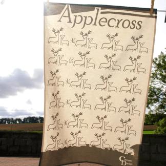Applecross Deer Teatowel by Clement Design