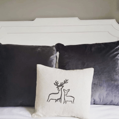 Bespoke Deer cushion