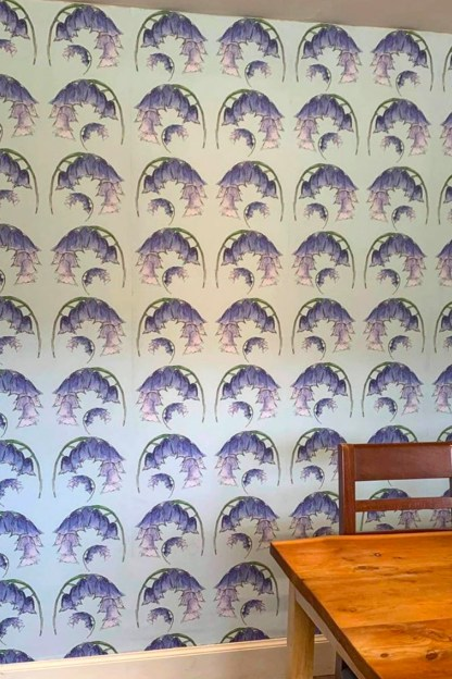 Scottish Bluebells Wallpaper by Clement Design