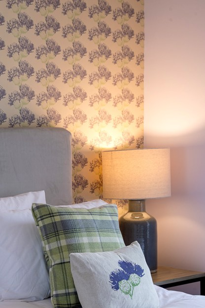 Scottish Thistle Wallpaper by Clement Design