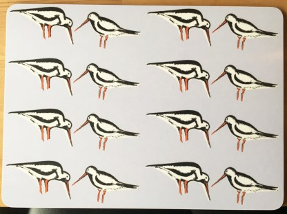 Oyster Catchers Placemat by Clement Design