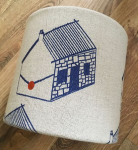 Hand-printed Bothy Lampshade by Clement Design