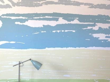 Applecross Bay Mural Wallpaper Cliff Cottage by Clement Design