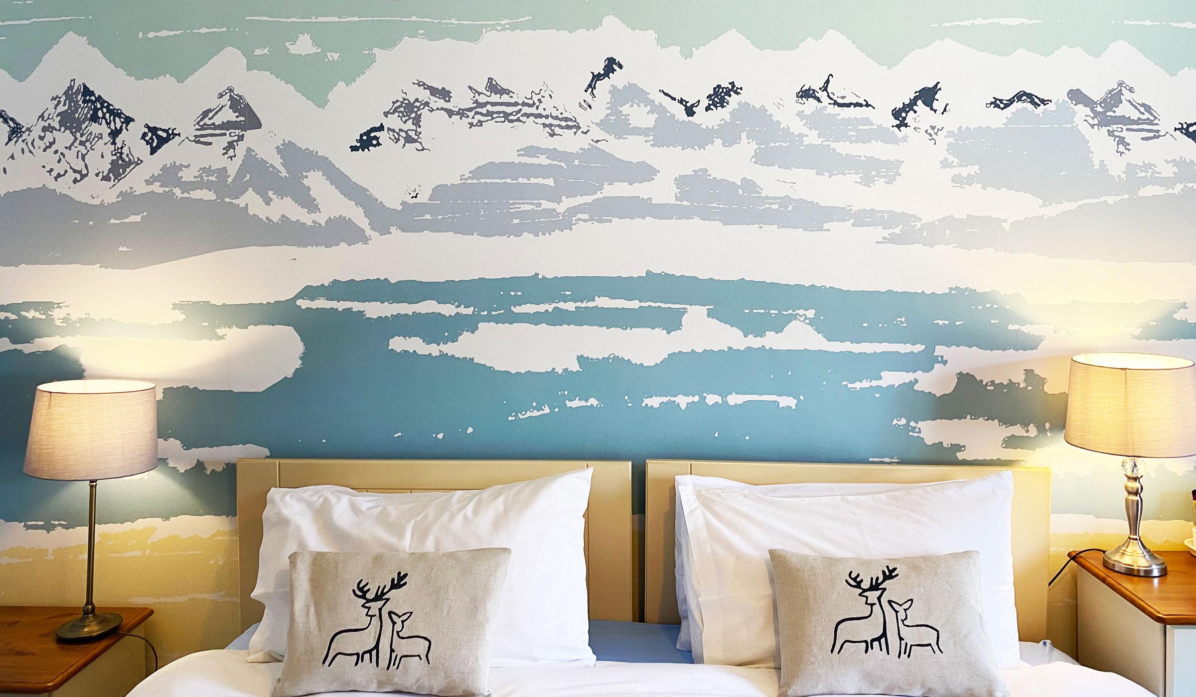Applecross Bay Mural Wallpaper by Clement Design GALLERY
