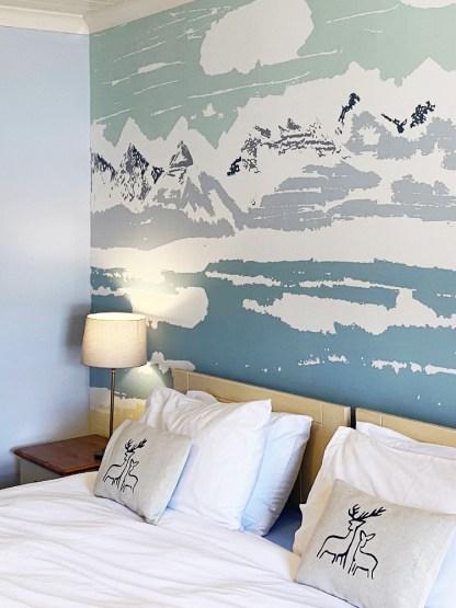 Applecross Bay Mural at the Applecross Inn by Clement Design