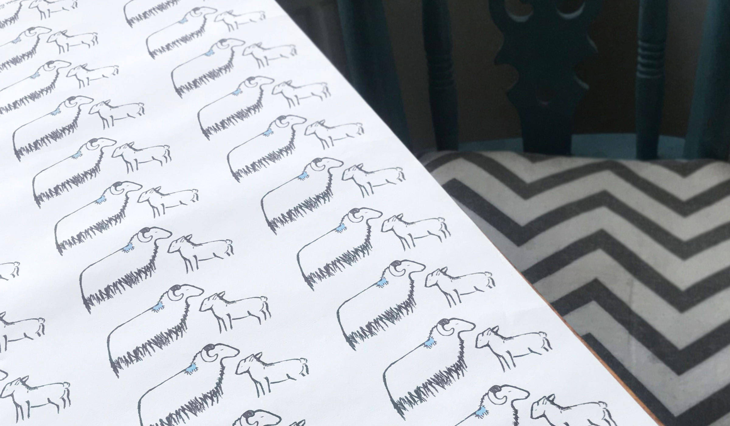 Sheep & Lamb by Clement Design GALLERY