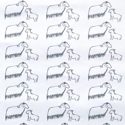 Sheep & Lamb Luxury Wallpaper by Clement Design Thumbnail