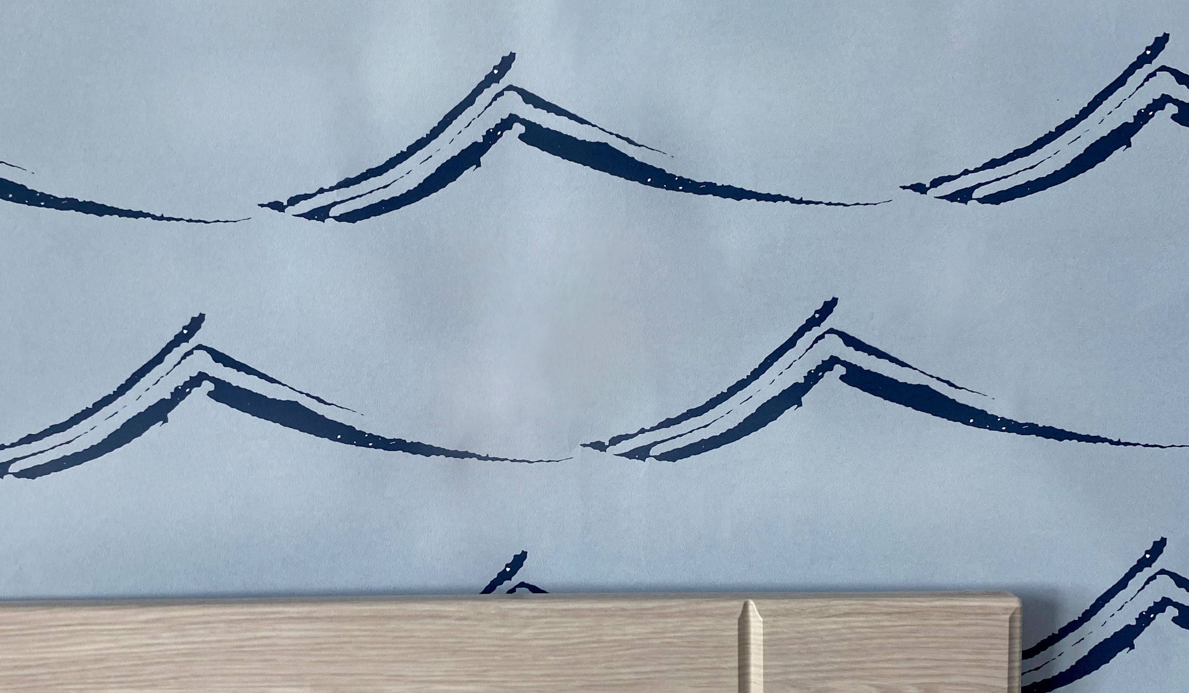 Waves Wallpaper by Clenet Design