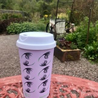 Cotton Grass Travel Mug by Clement Design