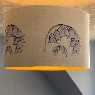 Scottish Bluebells Hand-printed Blinds by Clement Design for Applecross Inn