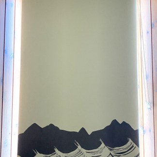 Sand Beach Hand-printed Blinds by Clement Design