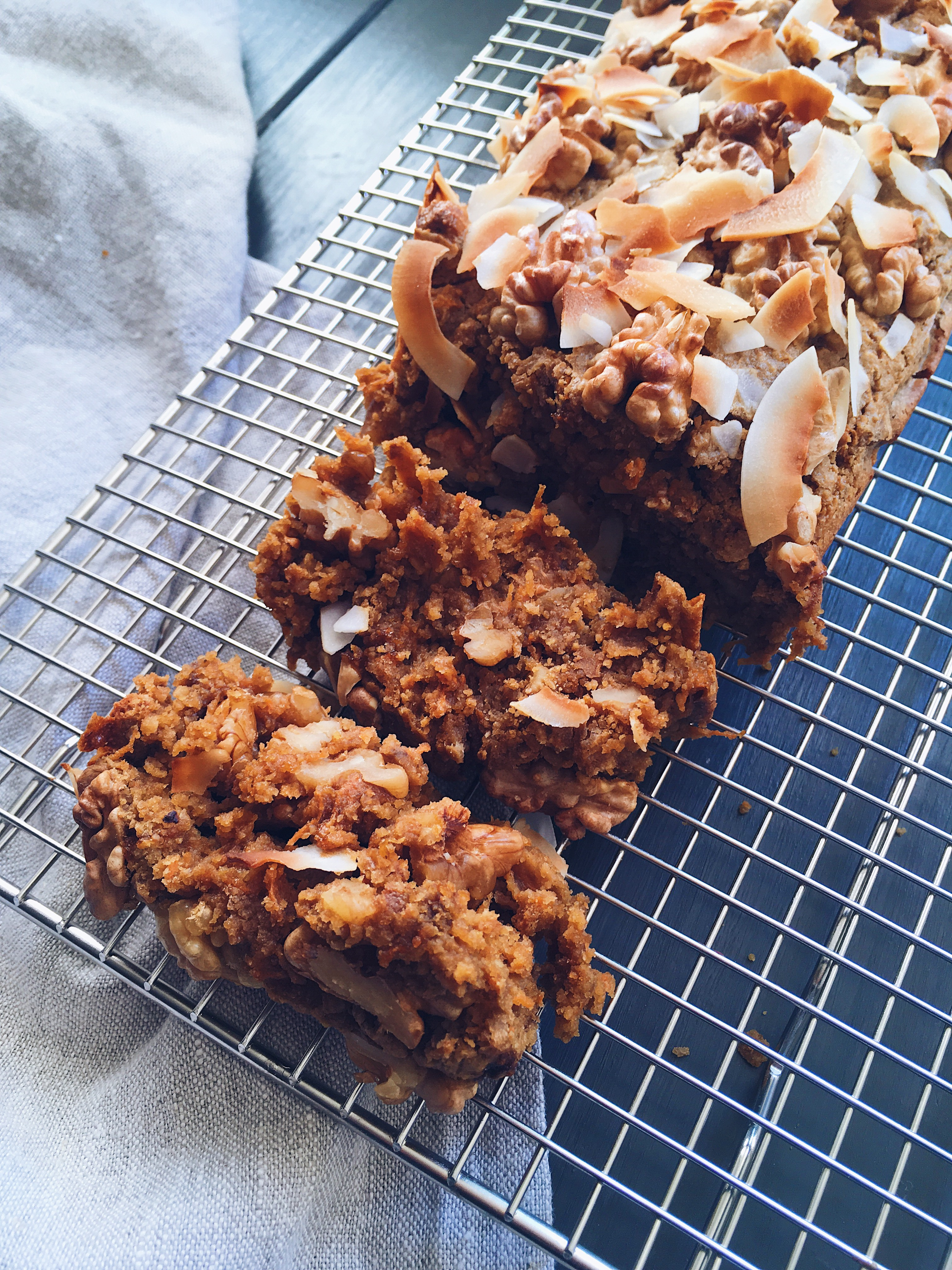 Carrot Cake Noix
