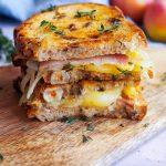 grilled cheese pomme et comté