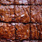 gros plan sur les brownies