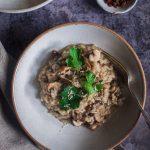 risoto champignons parmesan