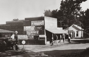 Judge Keller's store in 1936.