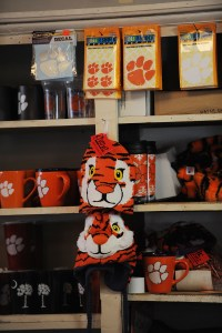 Tiger hats at the Judge Keller store
