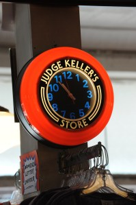Judge Keller's clock
