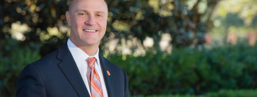 James Clements, Clemson's 15th President