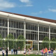 Rendering of the Watt Family Innovation Center