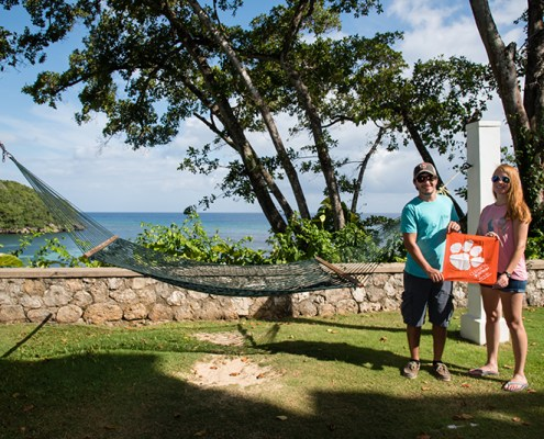 Jamaica: Amanda '12 and Jeremiah '12 Johnson
