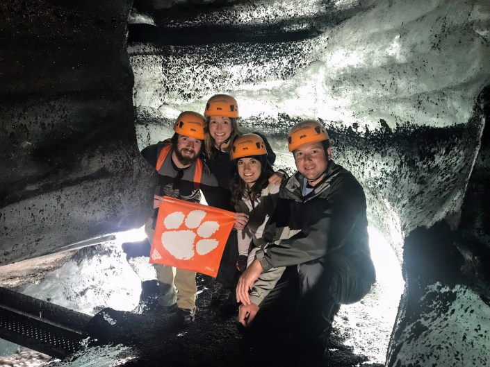 Iceland: Dan '10, M '12 and Kimberly '10 D'Unger; Rob '10 and Lauren '11 Culbertson