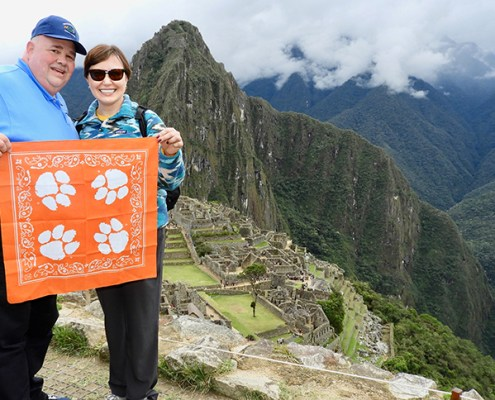 Peru: Olga Layfield M '08 and her husband, Dale Layfield, associate professor of agriculture