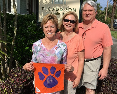 Florida: Lisa Goodrich West '79 and Chuck '79 and Jackie Nye '79 Paterno