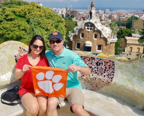 Spain: Henry '09 and Amanda Trujillo '08 McGill