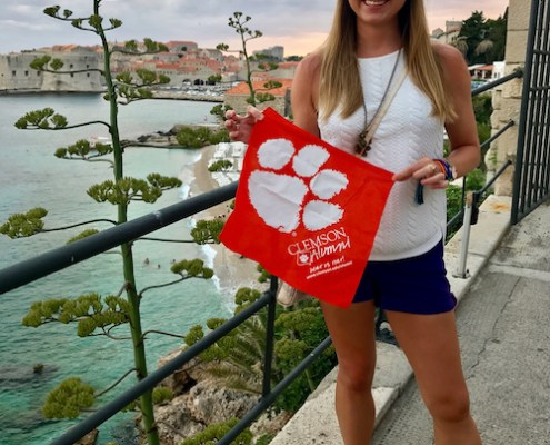 Croatia: Ashley Page '10 vacationing in Dubrovnik.