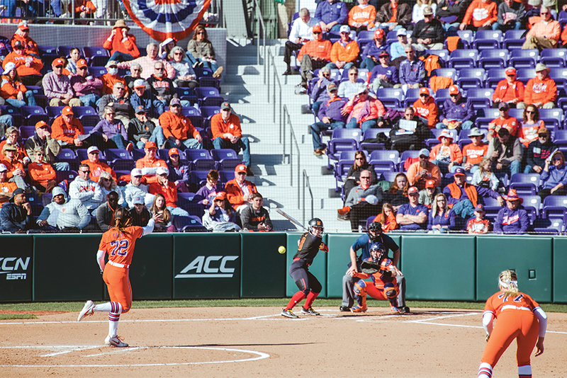 New Clemson Softball team takes field