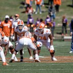 Freshman OL Marcus Tate Made Name for Himself in Clemson Spring Game