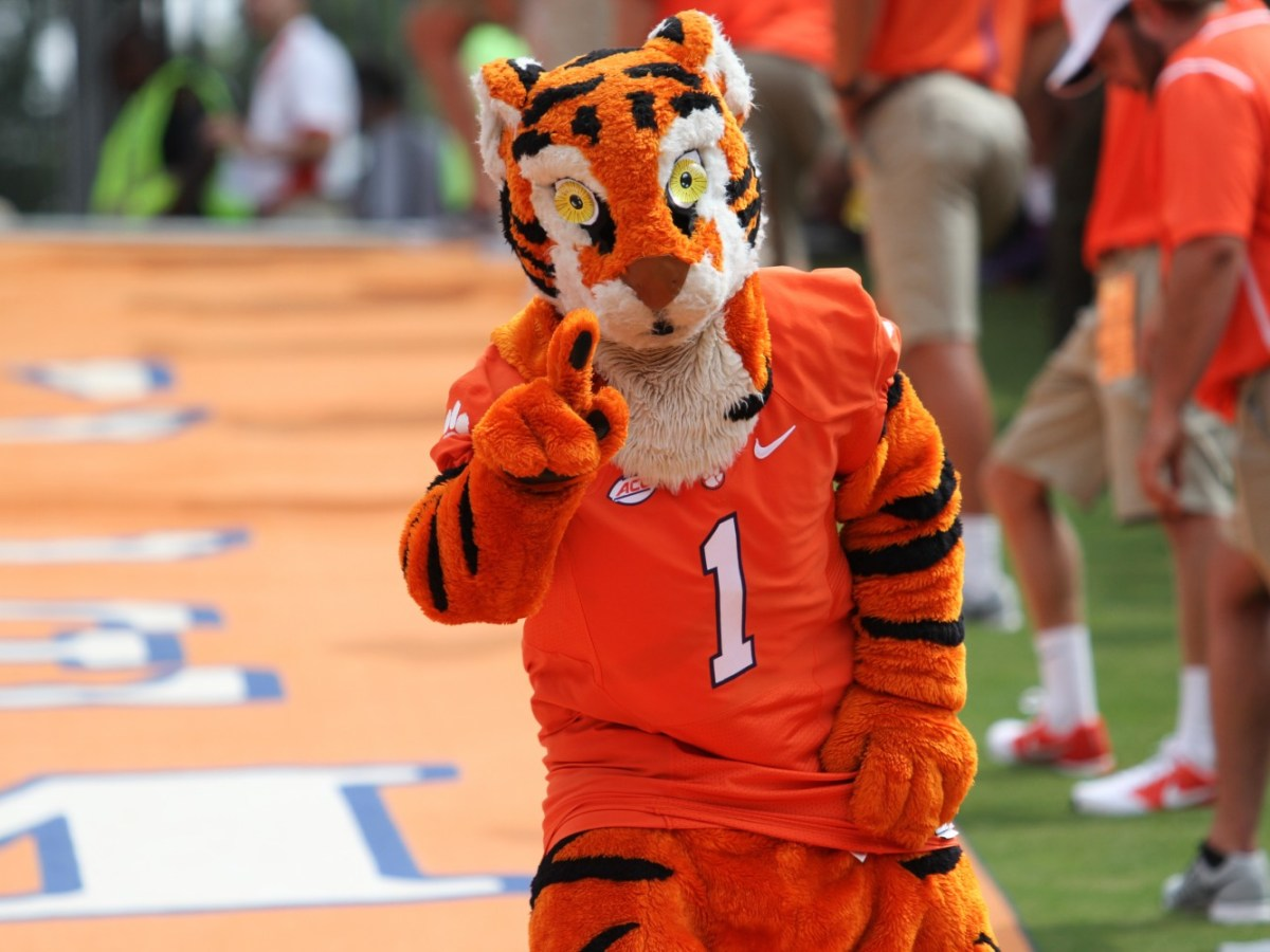 The Clemson Tiger (Photo courtesy of Clemson Athletics)