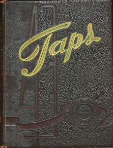 TAPS yearbook cover 1943.