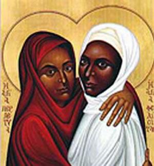 Resultado de imagem para Santo do Dia / Comemoração (SANTAS PERPÉTUA E FELICIDADE)