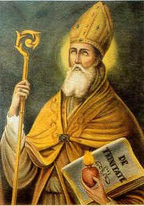 Resultado de imagem para imagem de santo agostinho