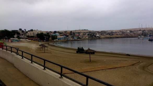 La playa de Caldera