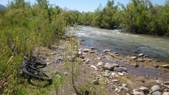 corriente del rio choapa