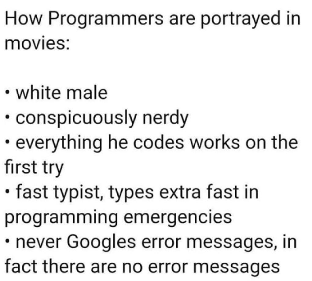 programming movie meme