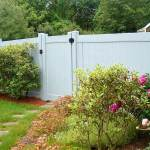 Vinyl Fence with Gate