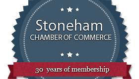 Cleveland Fence recognized for 30 years of Stoneham MA Chamber Membership