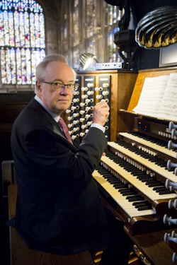 Organist Stephen Cleobury at St. Paul's, Cleveland Heights ...