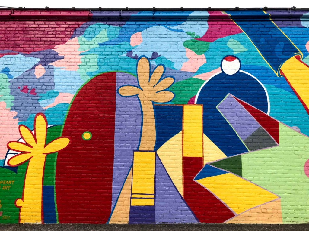 Street art in Gordon Square