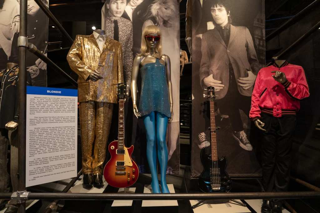 Rock and Roll Hall of Fame exhibit Blondie