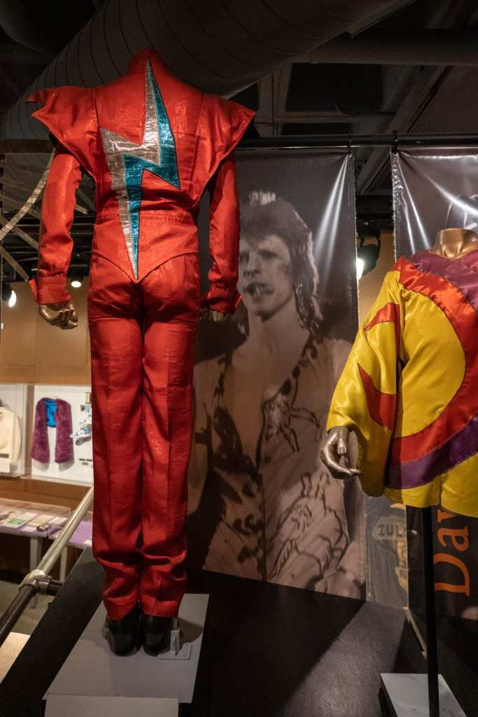 Rock and Roll Hall of Fame exhibit David Bowie