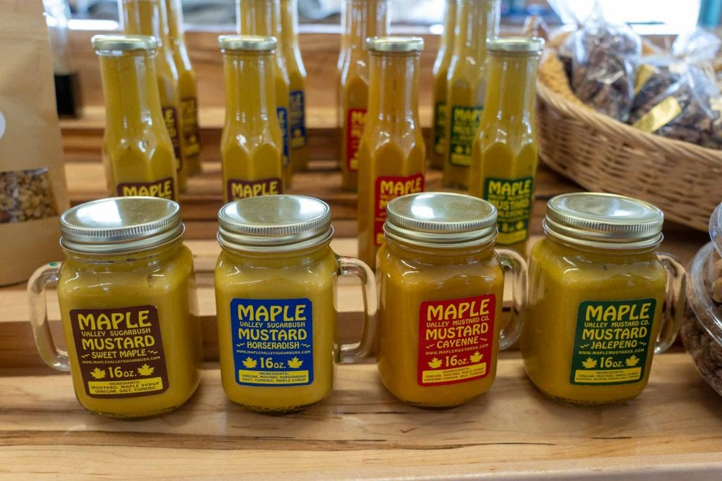 Maple mustard at West Side Market