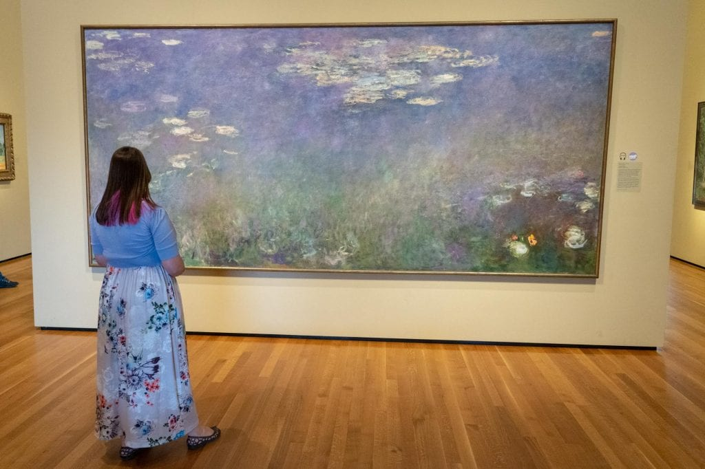 Monet Water Lilies in Cleveland